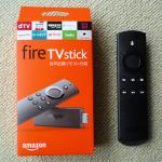 FireTVstickのパッケージとリモコン